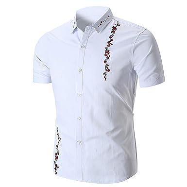 beauté prix plancher bonne vente Chemises Homme Chemises Bureau Chemises BoutonnéEs Chemise à ...