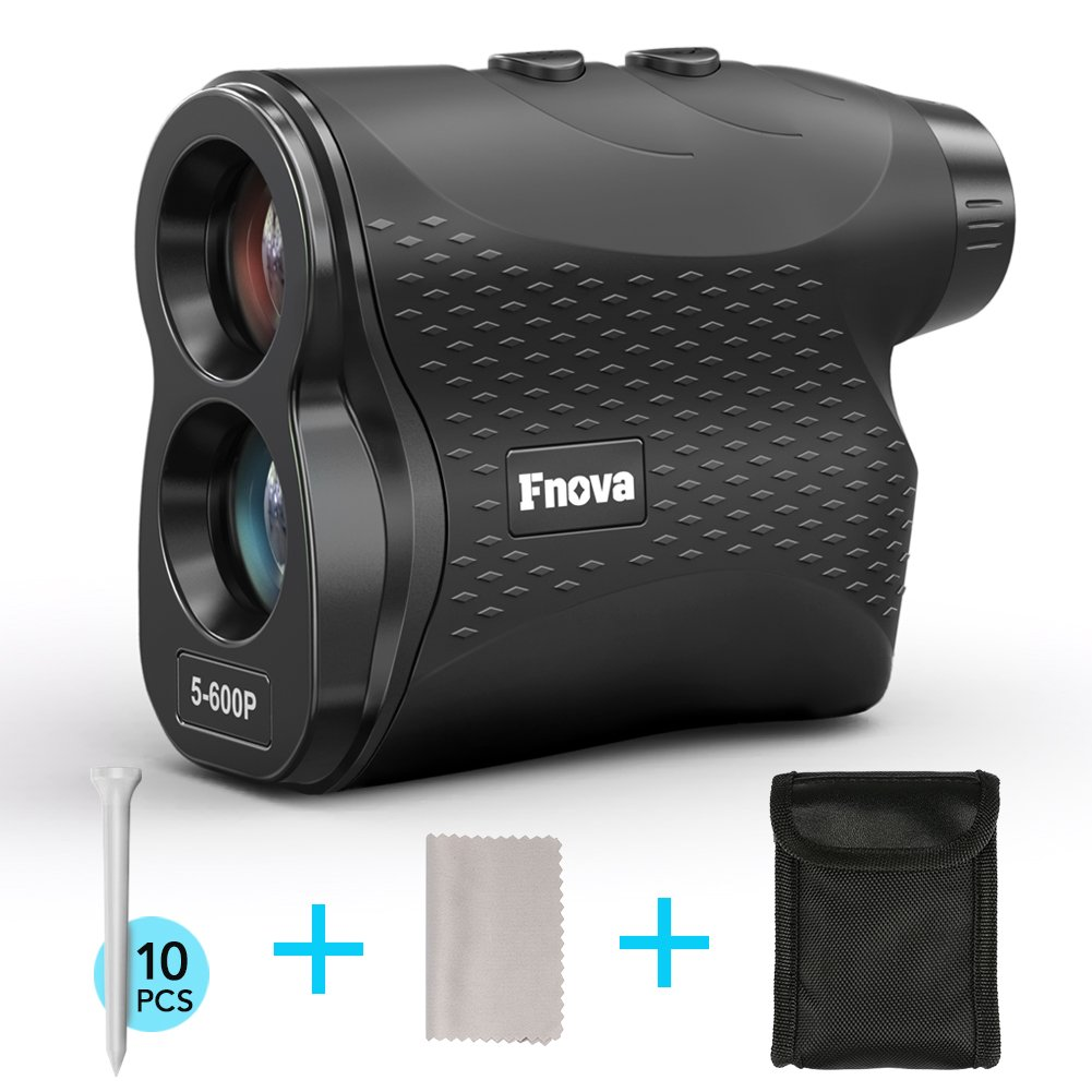 Fnova Laser Range finder, Rangefinder for Golfing and Hunting, with Speed, Horizontal Distance Measurement Perfect for Hunting, Golf, Engineering Survey