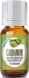 Cardamom Essential Oil - 100% Pure Therapeutic Grade Cardamom Oil - 10ml