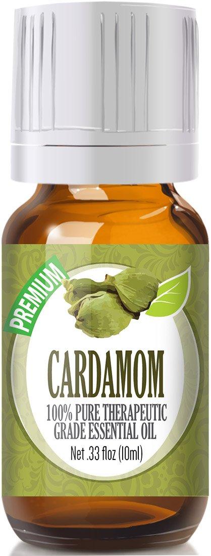 Cardamom 100% Pure, Best Therapeutic Grade Essential Oil - 10ml