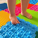 Orthopedic massage puzzle ''Hedgehogs'' (carpet) floor mats for babies,kids and adults