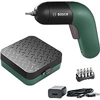 Bosch Home and Garden Akülü Vidalama Makinesi IXO (6. Seri, yeşil, Micro USB Şarj Cihazı, Değişken Hız Kontrolü, 3.6 Volt, Dayanıklı Kutuda)