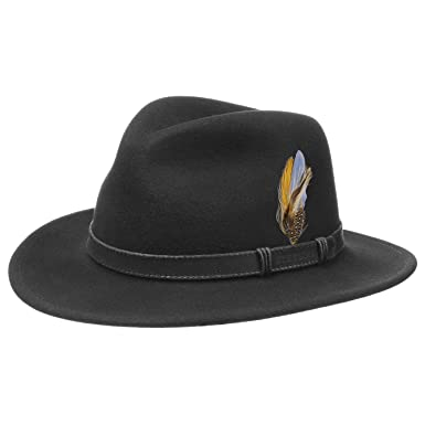 Stetson Rutherford VitaFelt Hat wool traveller  Amazon.co.uk  Clothing 58a0656dc375