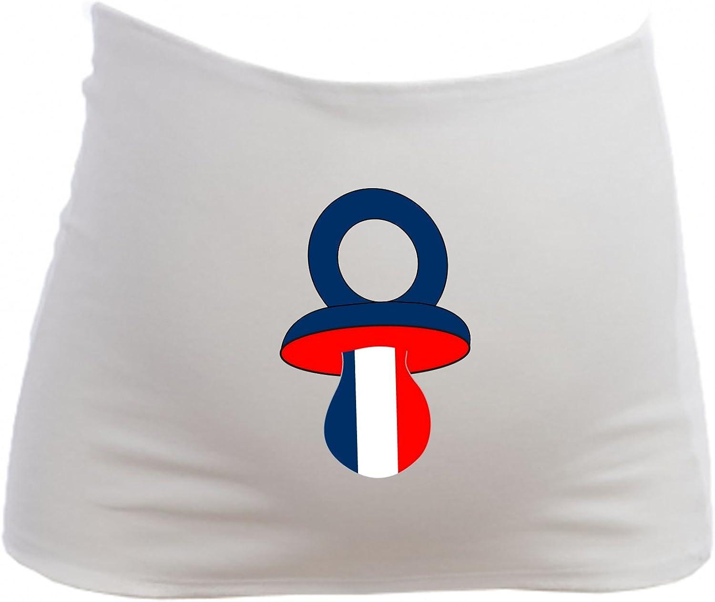 T/étine Drapeau de la France Bandeau de Grossesse YONACREA Maternit/é