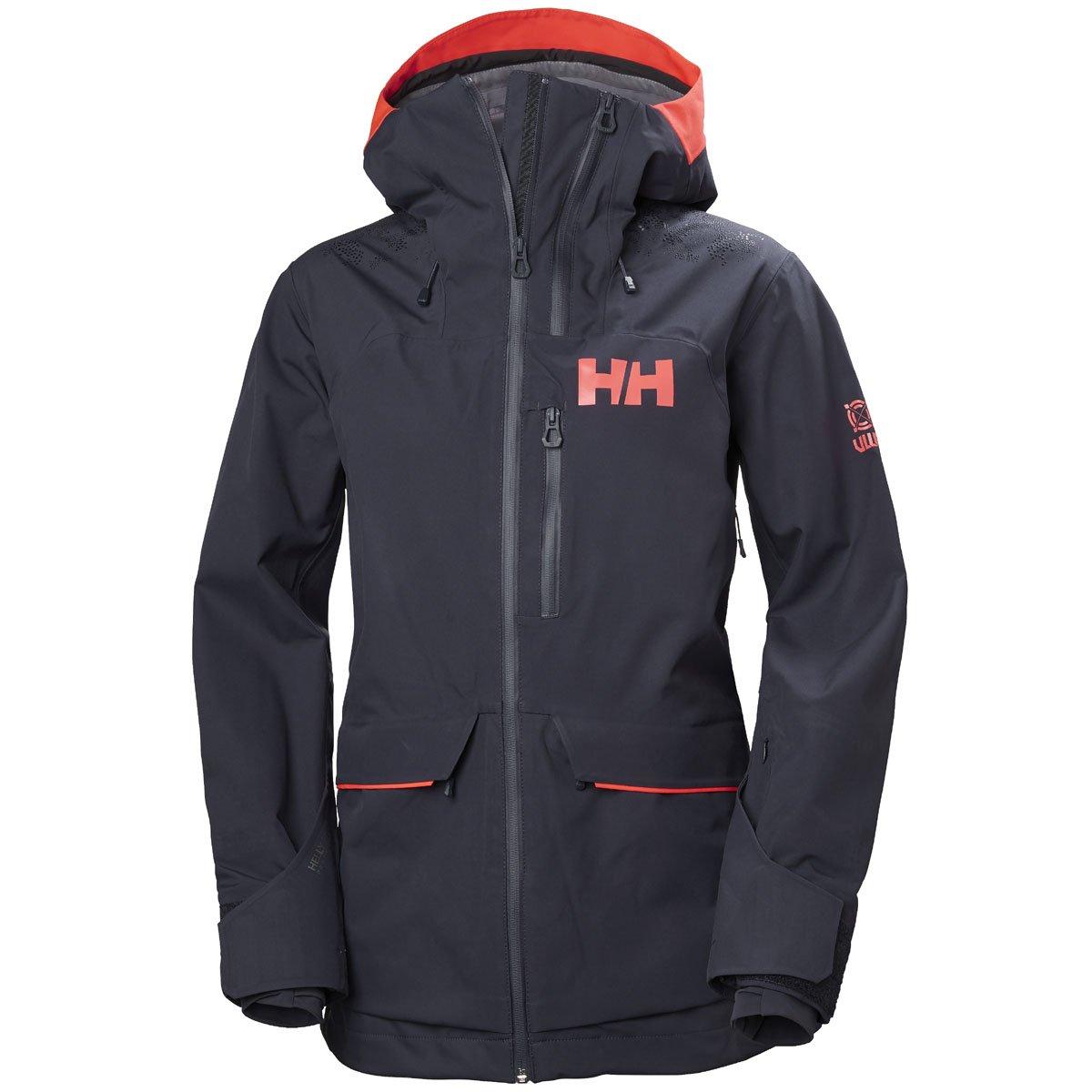 39ca317df3 Amazon.com  Helly Hansen Women s Aurora 2.0 Waterproof Shell Ski Jacket