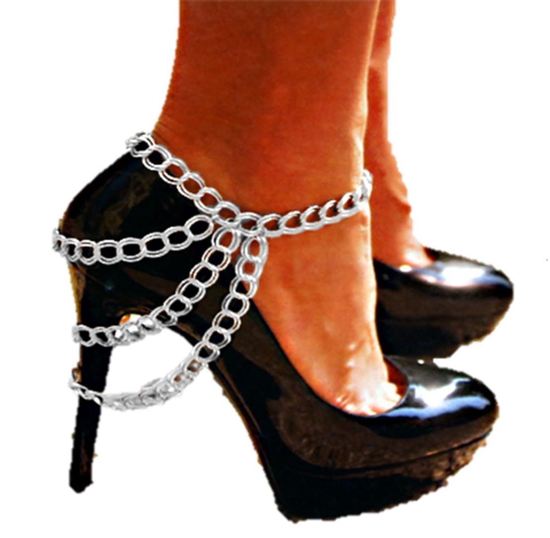 Shoe Chain - Anklet / Azfjbt008-sil