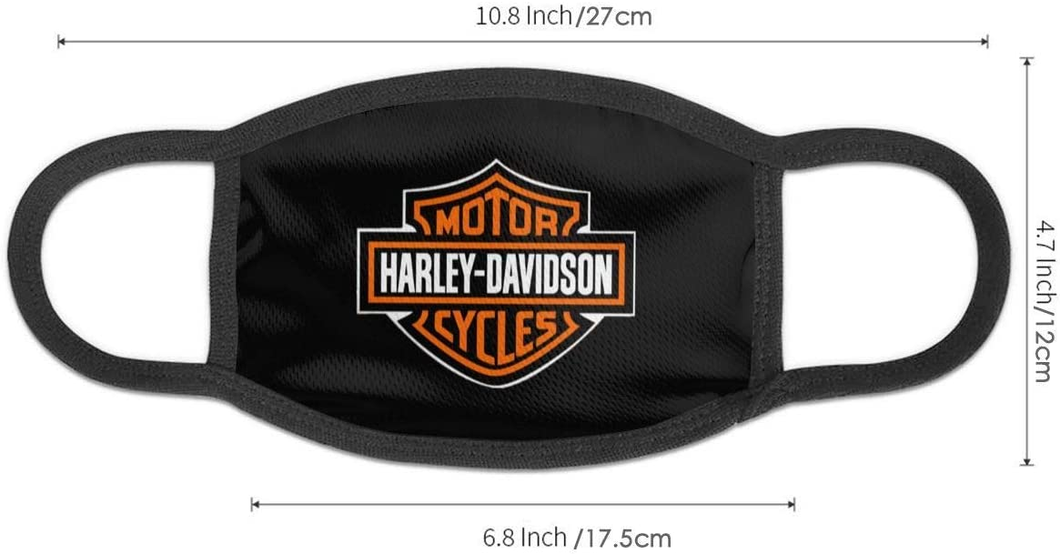 Lionel Philip Sicheres Wiederverwendbares Gesicht Motor Harley Motorrad Davidson Feuerhintergrund Schutz Waschbarer Mund Und Nasenschutz Atmungsaktiver Rauchschutz Auto