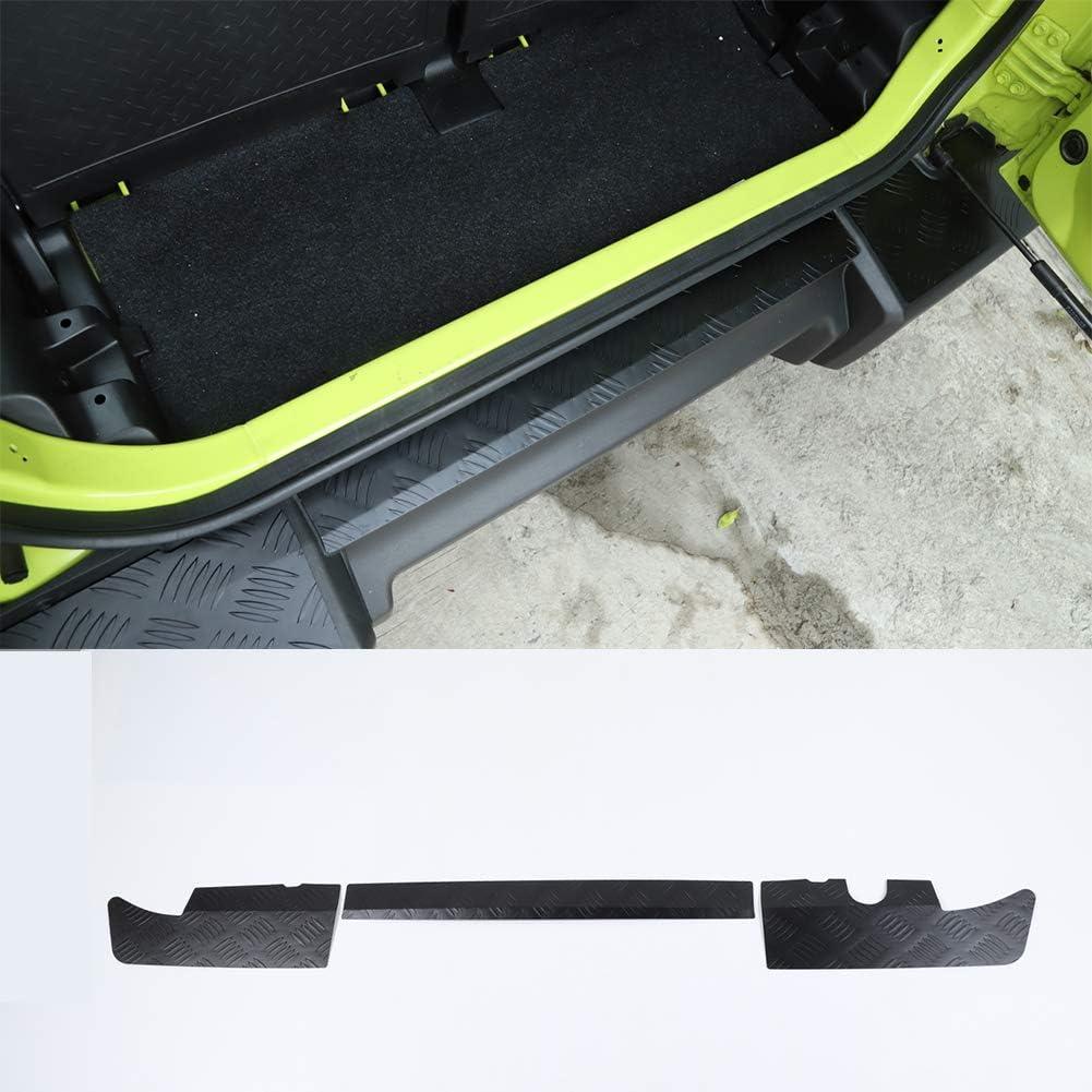 Schwarze Aluminium Legierung Hintere Stoßstange Schutzabdeckung Dekorative Abdeckungen Für Suzuki Jimny 2019 2020 Auto