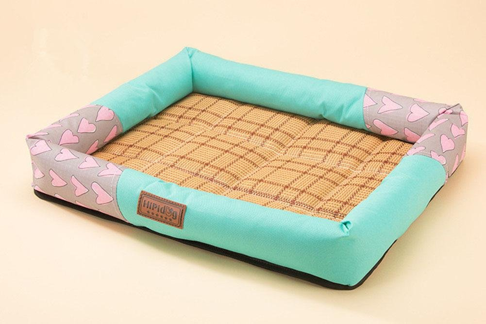 bluee m bluee m Pet Bed for Cats and Small Medium Dogs Comfortable, Breathable W-23, bluee, m
