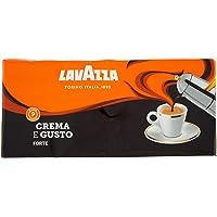 Lavazza Caffè Macinato Crema e Gusto Forte Tostatura Scura - Confezione da 1 Kg