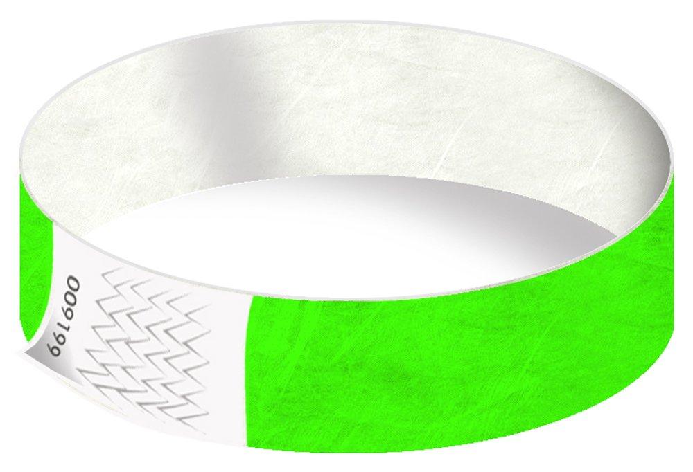Tyvek-Kontrollb/änder Wei/ß, 100 St/ück Eintrittsb/änder in 22 Farben Sicherheitsb/änder VIP-B/änder rei/ßfest Partyb/änder wasserfest 19 mm sicher Festivalb/ändchen Einlassb/änder