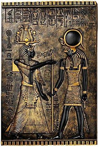 Design Toscano Egyptian Temple Stele Plaque Isis