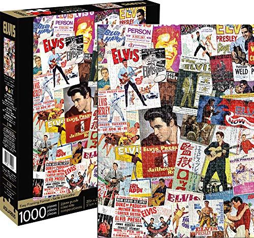 Elvis- Movie Poster Collage 1,000pc Puzzle