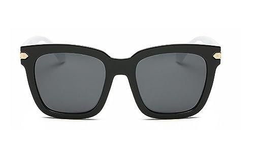Gafas De Sol De Marco Grande Masculino Gafas De Sol Polarizadas Marea Salvaje De La Moda Femenina