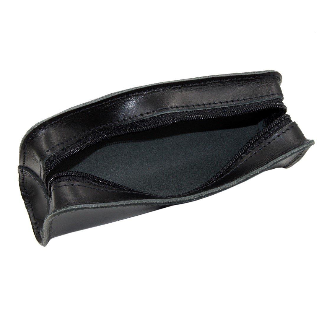 Federmappe - Schlamperrolle - Stiftemappe - - - Kosmetiktasche aus Leder in braun mit Reißverschluss - Handmade in Germany - (New Antik) B075P3KB3N Federmppchen Rabatt 4c8f52