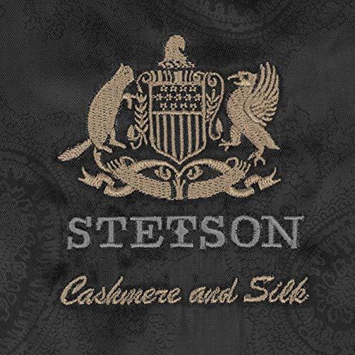 Stetson Bangor Cashmere Silk Flat Cap (57 cm - Grey)  Amazon.co.uk  Clothing 58fcc3d0deea