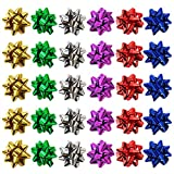 Allgala 30-pc Christmas Gift Wrapping Bows 6-Color Assorted