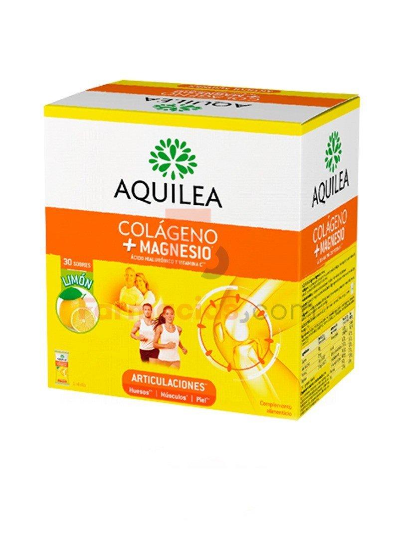 Aquilea Magnesio+Colágeno Articulaciones Sabor Limon, 30Sobres: Amazon.es: Salud y cuidado personal