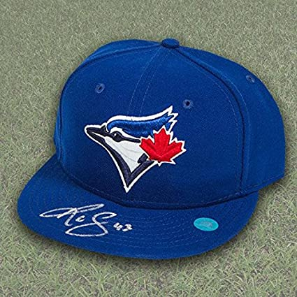 best service db2fa dd979 R.A. Dickey Toronto Blue Jays Autographed Official On Field ...