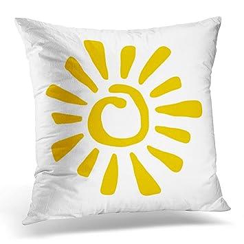 Amazon.com: Emvency - Funda de cojín cuadrada para sofá o ...