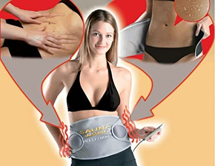 276e1757e7 Image Unavailable. Image not available for. Color  Electric Fat Burner  Reduction Slimming Belt Waist Massager Heating Vibration ...