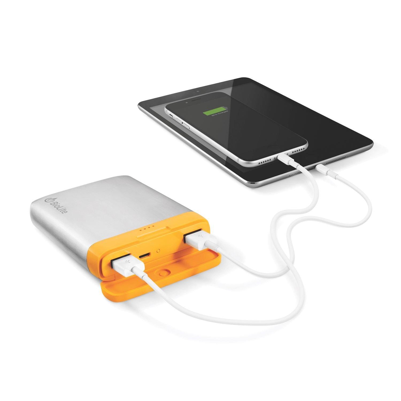 10400mAh 2 USB Outputs BioLite Charge 40 Wetterfeste Tragbare Powerbank