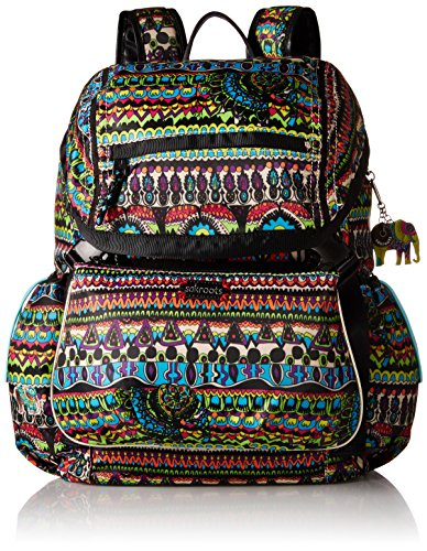 Sakroots Artist Circle Utility Daypack Backpack, Radiant One World, One Size