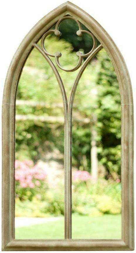 HOME FURNITURE - Espejo de jardín para Exteriores con diseño ...