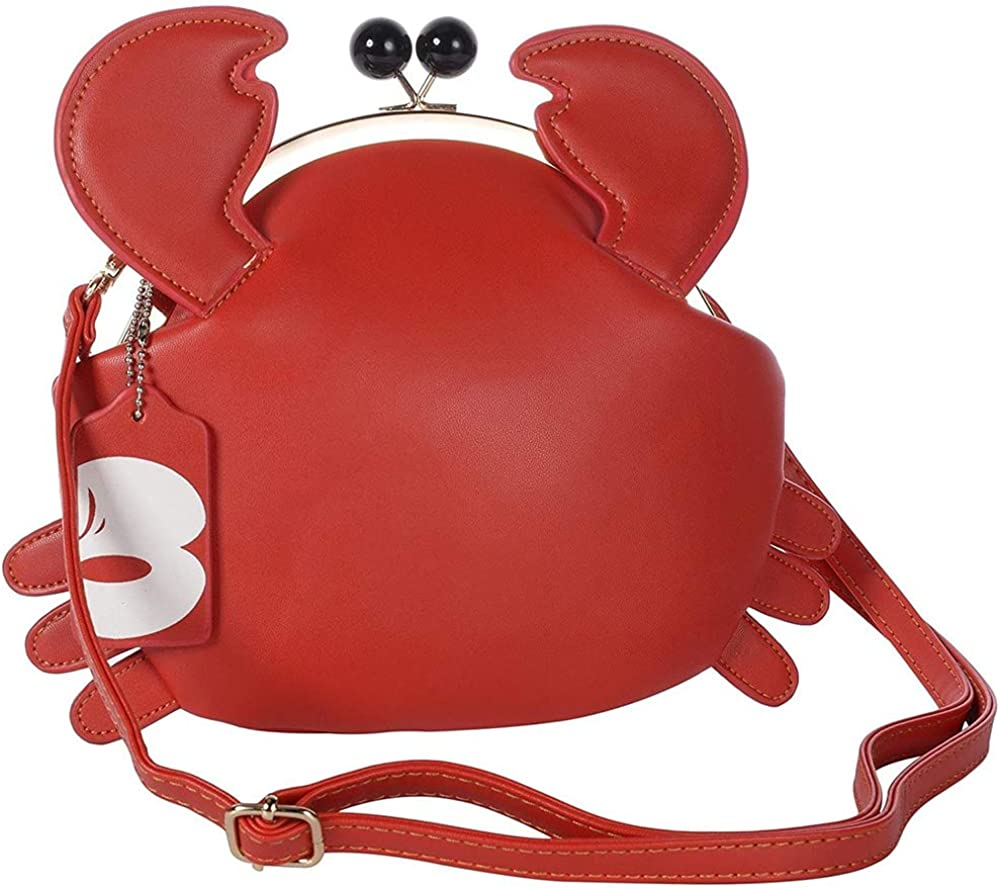 Haolong Women's PU Crab...