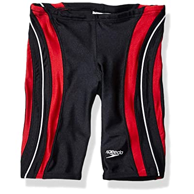 .com : Speedo Men and Boys' Xtra Life Lycra Rapid Splice Jammer Swimsuit : Athletic Swim Jammers : Clothing