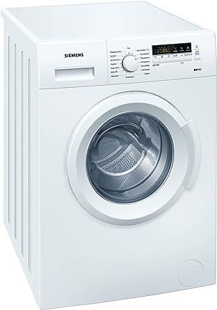 Siemens WM 14B221 - Lavadora (Independiente, Color blanco, Frente ...