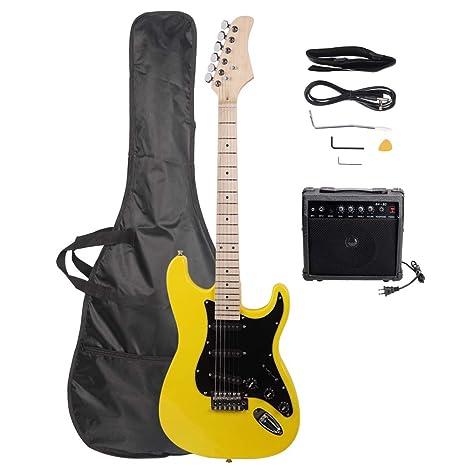 ISIN Guitarra eléctrica de tamaño completo para principiantes con ...