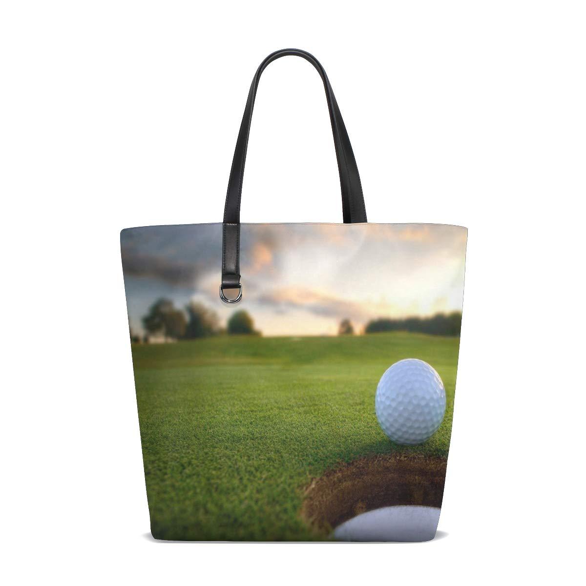 Amazon.com   Golf Backgrounds Tote Bag Purse Handbag Womens ...
