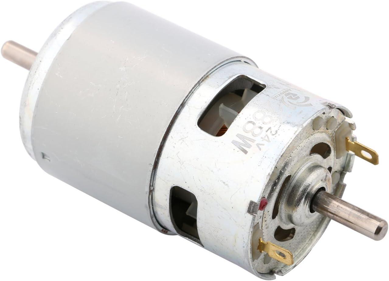 1pc 775 CC Motor Max 35000 RPM CC 12V-24V Cuscinetto a Sfere di Grande Coppia di Torsione ad Alta Potenza a Basso Rumore Gear Motor componente elettronico del Motore WJN-Motor