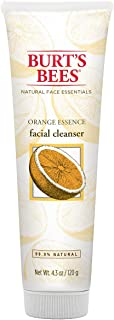 product image for Burt's Bees Orange Essence Facial Cleanser, Sulfate-Free Face Wash, 4.3 Ounces