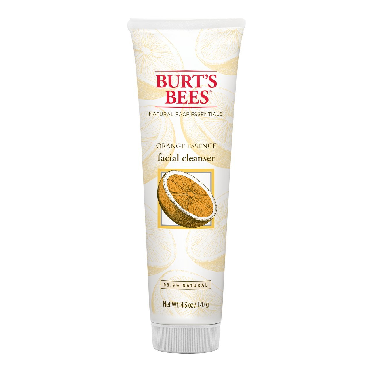 Burt's Bees Orange Essence Facial Cleanser, 4.34 Ounces, Pack of 3 Burt' s Bees