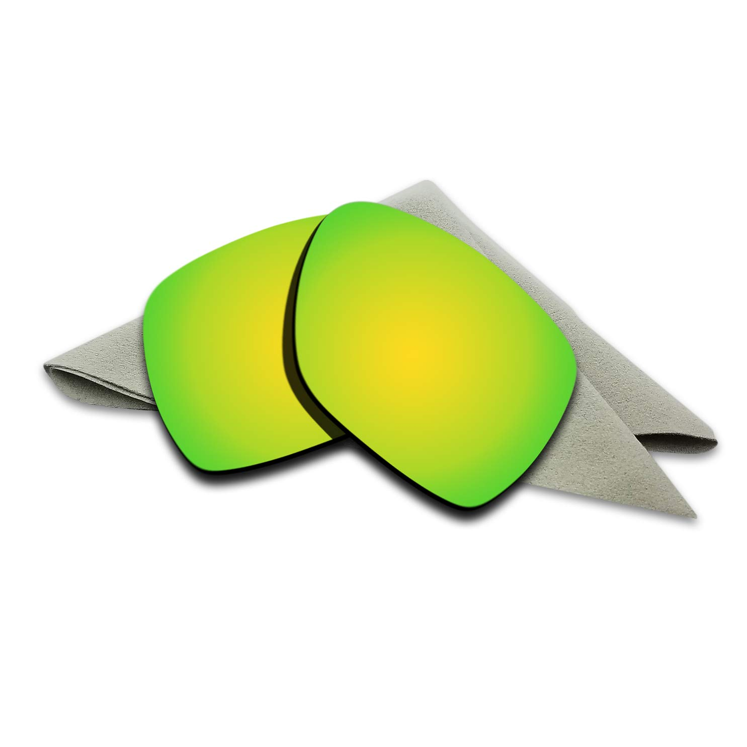 f514bb77b5 Amazon.com  24K Golden Mirrored Polarized Lenses Replacement for Oakley  Deviation Sunglasses  Clothing