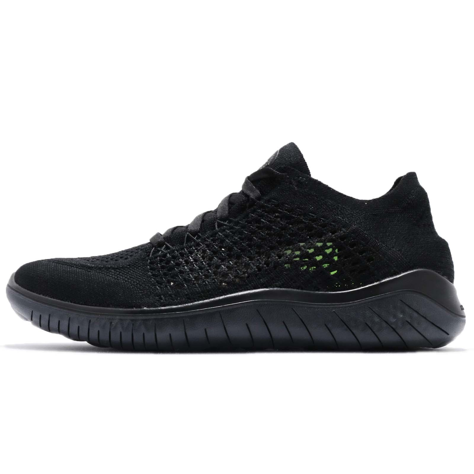 a98ba7f1435 Galleon - NIKE Women s Free RN Flyknit Running Shoe Black Anthracite 8.5