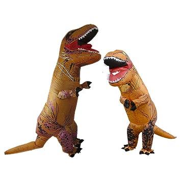 Edelehu Halloween Inflable Vestido Dinosaurio Cosplay Traje ...