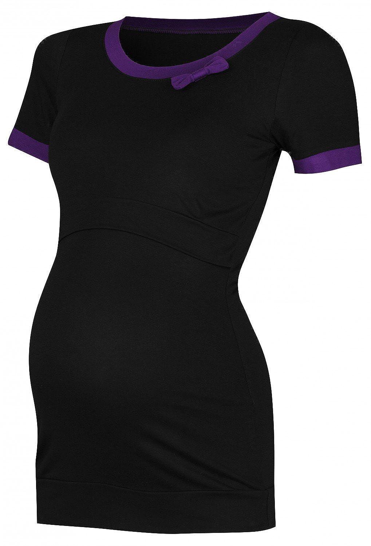 d9d809904 Mujer top camiseta premamá lactancia arco contraste doble capa. 996p  nursingtop 996