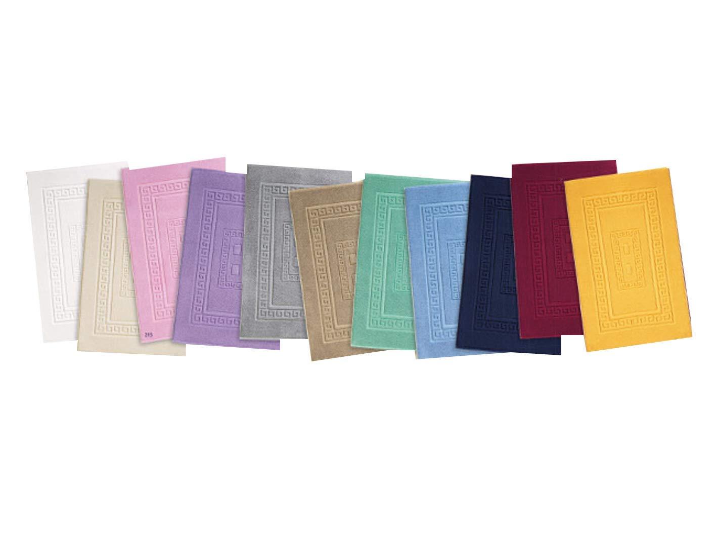 Tappeti Da Bagno Eleganti : Homelife tappeto bagno rettangolare in cotone dimensioni