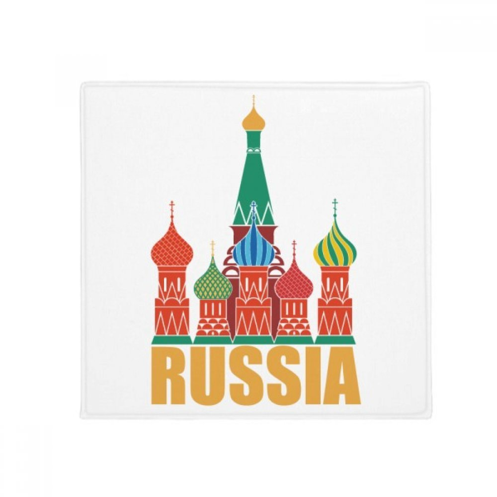 DIYthinker Russia Cathedral Moscow Church Illustration Anti-Slip Floor Pet Mat Square Home Kitchen Door 80Cm Gift
