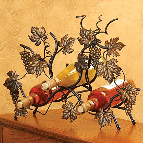J&J Wire Free Standing Wine Rack by J&J Wire