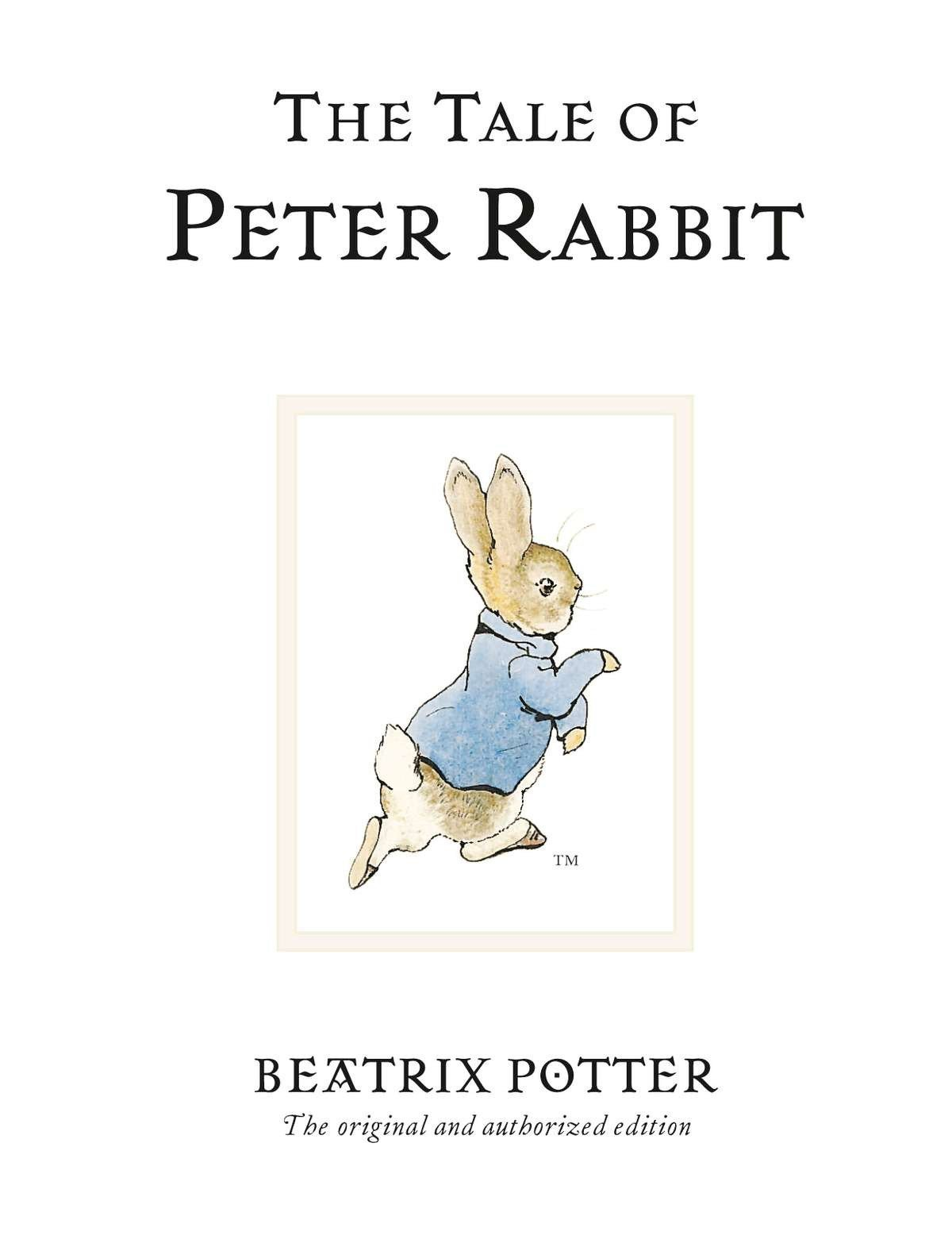 The Tale Of Peter Rabbit (Beatrix Potter Originals): Amazon.es ...