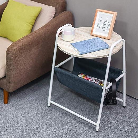 MJY Pequeño escritorio minimalista moderno, mesa de centro pequeña ...