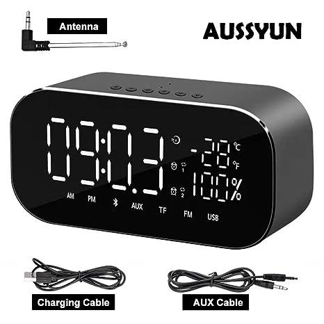 Amazon.com: AUSSYUN Mini Portable Multifuntional Bluetooth ...