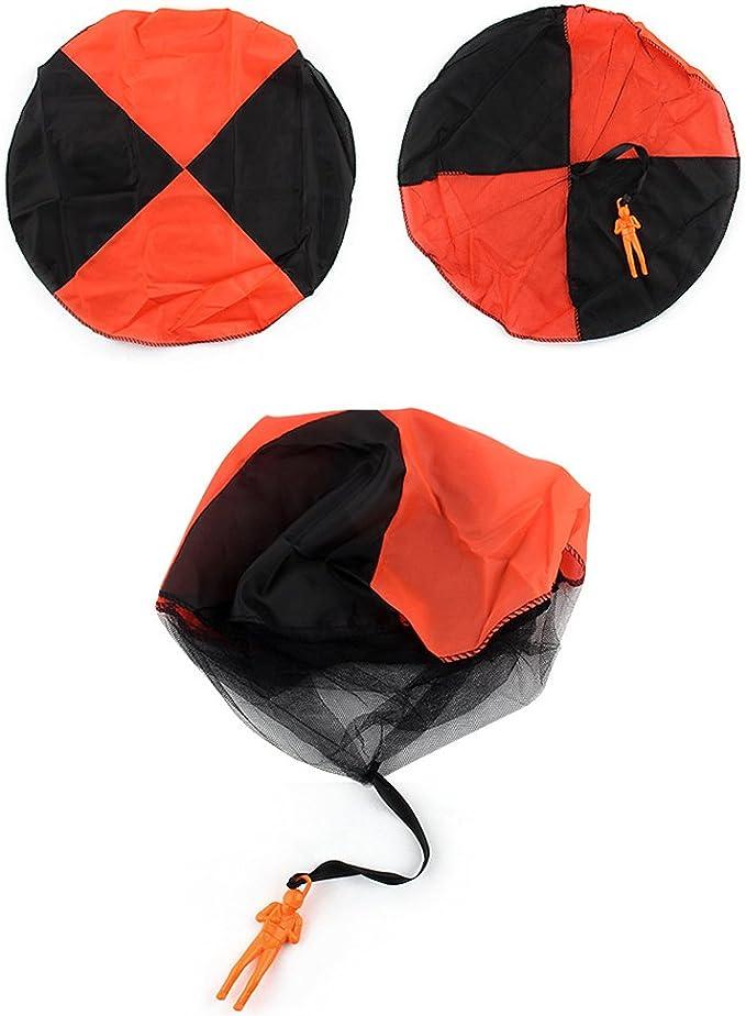 Forepin reg; 4 X Aquilone Giocattolo Lancio Paracadute Groviglio Libero Giocattolo Mano per Bambini