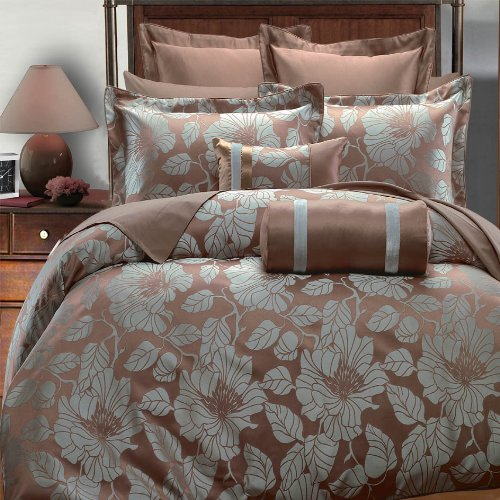 Egyptian Bedding Amanda 7PC Queen Size Duvet Covers Set Egyptian Bedding®
