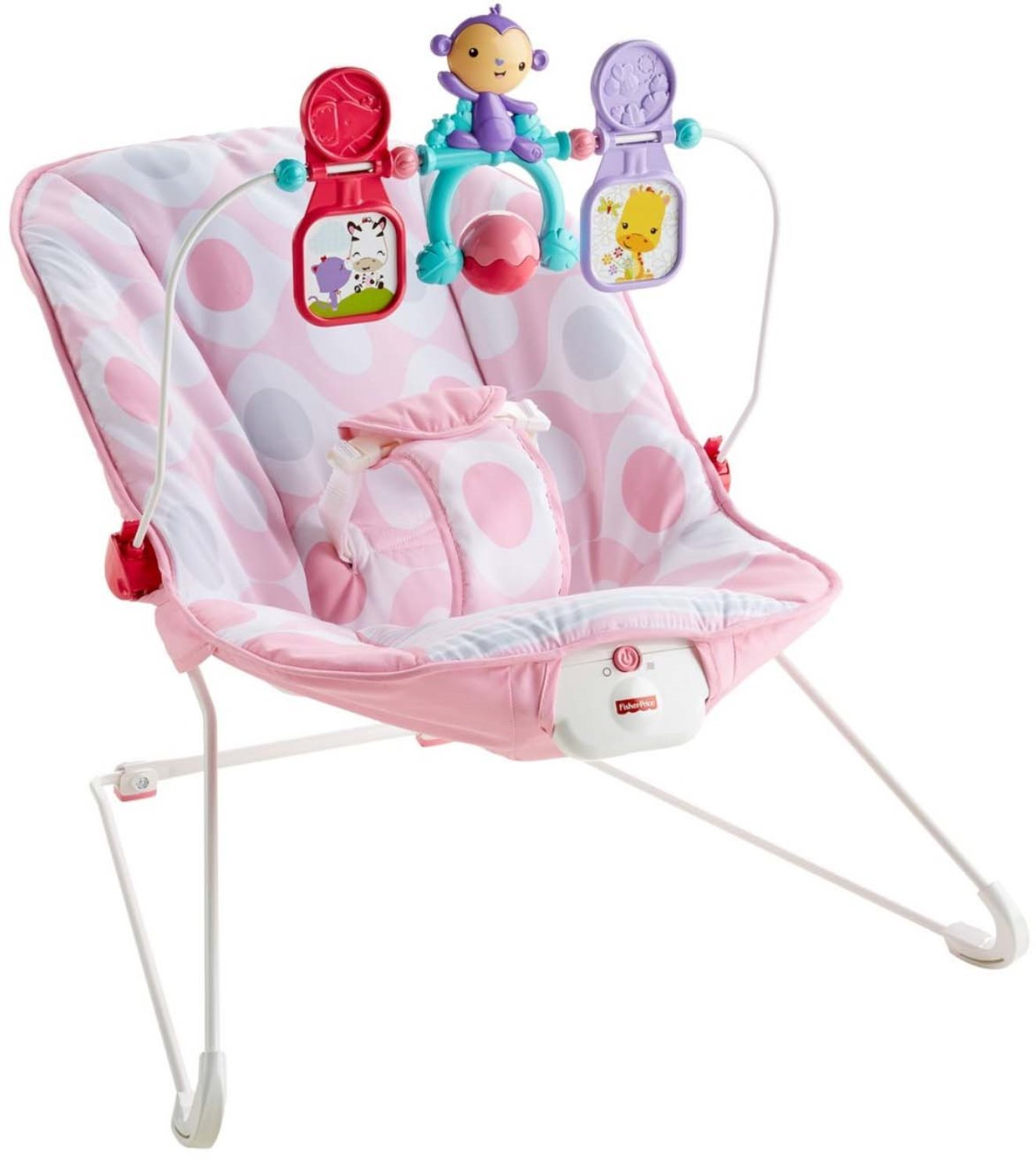 Fisher-Price Baby's Bouncer, Pink Ellipse CMR11