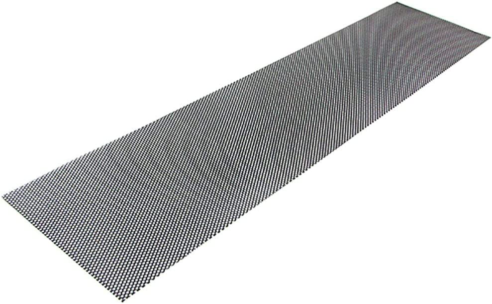 Tenzo-R 38284 Aluminium Gitter Renngitter Wabengitter Racegitter 150X30cm 4x7mm Schwarz